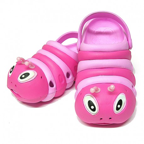 Pink Bugz Shoe Stacked