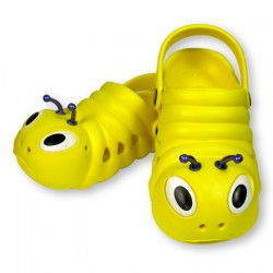 Bright Yellow Bugz shoes